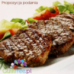 Beef Pieces with Vegetables in Cream and Herbal Sauce
