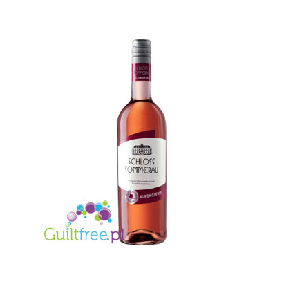 Non-alcoholic pink wine 0.0% alcohol
