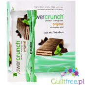 Power Crunch Mint & Chocolate box of 12 - protein wafer with stevia