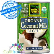 Unsweetened Organic Coconut Milk Light