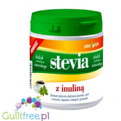 Stevia with green tea leaf