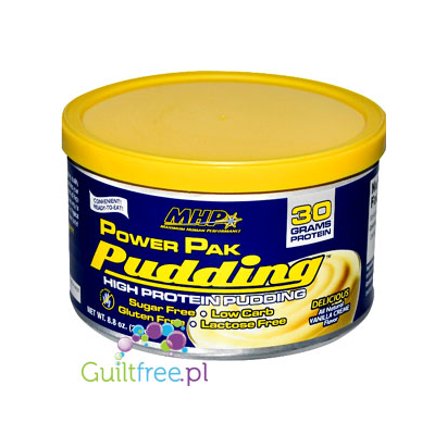 MHP Power Pak High Protein Pudding Natural Vanilla Flavor
