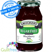 Smucker's Sugar Free Blackberry Preserves Naturally Sweetened with Truvia
