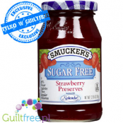 Smucker's Sugar Free Strawberry Preserves Sweetened with Splenda
