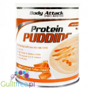 Body Attack protein caramel-toffee flavor pudding