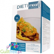 Dieti Meal high protein omelette with mushroom