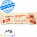 ThinkThin Fiber Solony Karmel - baton proteinowy 150kcal