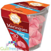 Krunchy Melts Strawberry Meringues Sugar Free Fat Free Gluten Free