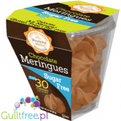 Krunchy Melts Chocolate Meringues Sugar Free Fat Free Gluten Free
