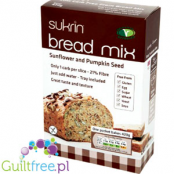 Sunflower and pumpkin seed bread mix from gluten, wheat, soy, milk and yest
