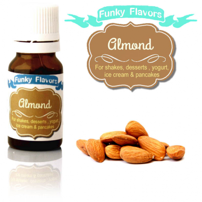 Funky Flavors Almond for shakes, desserts, yogurt, ice cream & pancakes