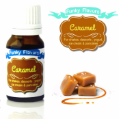 Funky Flavors Caramel for Shakes, Desserts, Yoghurt, Ice Cream & Pancakes