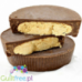 Cravings Peanut Butter Cups - High-protein chocolate cups filled with peanut butter, contains sweeteners