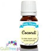 Funky Flavors Coconut for shakes, desserts, yoghurt, ice cream & pancakes