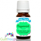 Funky Flavors Peppermint for shakes, desserts, yoghurt, ice cream & pancakes