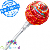 -Chupa Chups SugarFree Lolly Cherry Flavor