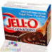 Jell- O Pudding without sugar and no fat with a chocolate flavor