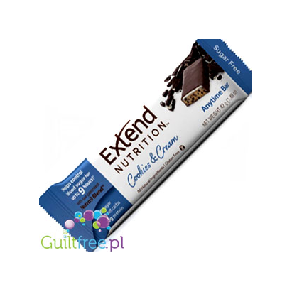 Extend Bar Sugar Free AnyTimeBar, Cookies and Cream
