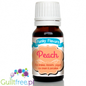 Funky Flavors Peach for shakes, desserts, yoghurt, ice cream & pancakes