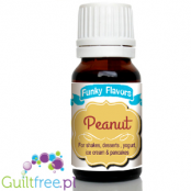 Funky Flavors Peanut for shakes, desserts, yoghurt, ice cream & pancakes
