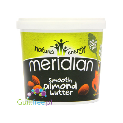 Meridian smooth almond butter 100% nuts
