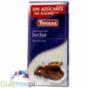Torras Milk chocolate No suggars added Milky chocolate