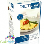 Dieti Meal high protein cheese omelette