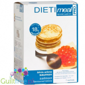 Dieti Meal high protein salmon blinis