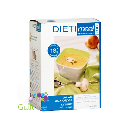 Dieti Meala high-protein mushroom soup with dried mushrooms and boletus