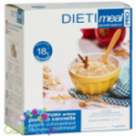 Dieti Meal high-protein oatmeal with dried apple, with cinnamon flavor