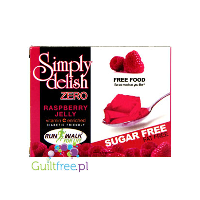 Simply delish zero Raspberry Jelly