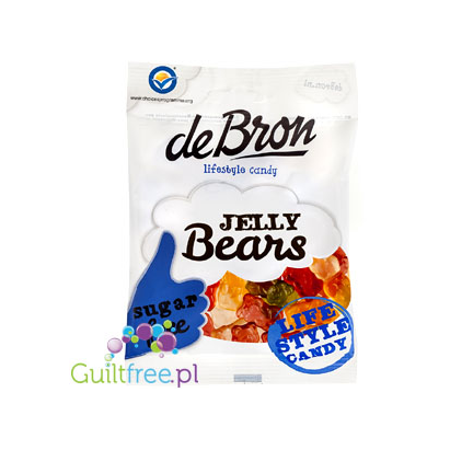 De Bron Jelly Bears Vitamin C added sugarfree