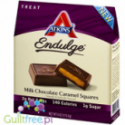 Atkins Endulge Squares, Milk Chocolate Caramel PUDEŁKO