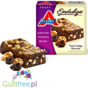 Atkins Treat Endulge Nutty Fudge Brownie