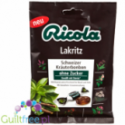 Ricola Swiss Herbal Sweets Liquorice Sugar Free sweets 75g