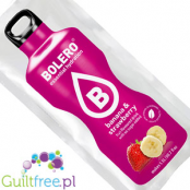 Bolero Instant Fruit Flavored Drink with sweeteners, Banana & Strawberry