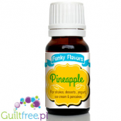 Funky Flavors Pineapple for shakes, desserts, yogurt, ice cream & pancakes