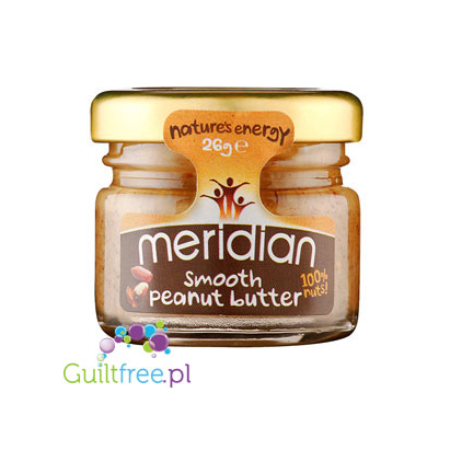 Meridian smooth peanut butter 100% nuts