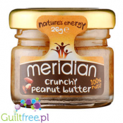 Meridian crunchy peanut butter 100% nuts