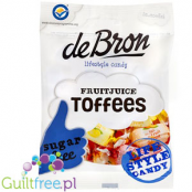 De Bron Sugar Free Fruit juice toffees