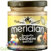 Meridian smooth cashew butter 100% nuts -