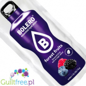 Bolero Instant Fruit Flavored Drink with sweeteners, Forrest Fruits
