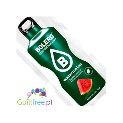 Bolero Instant Fruit Flavored Drink with sweeteners, Watermelon