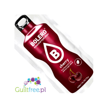 Bolero Instant Fruit Flavored Drink with sweeteners, Cherry