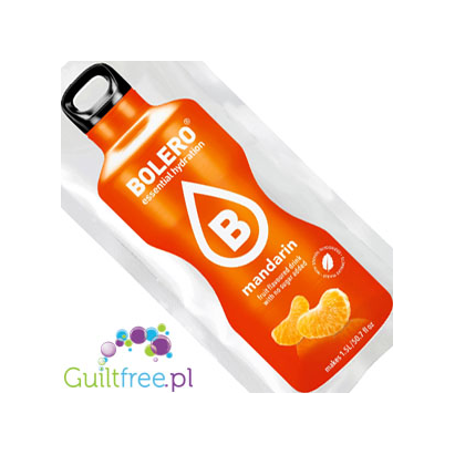 Bolero Instant Fruit Flavored Drink with sweeteners, Mandarin