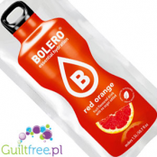 Bolero Instant Fruit Flavored Drink with sweeteners, Red Orange