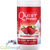Quest Protein Powder, Strawberries & Cream Flavor