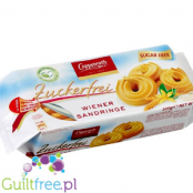 Coppenrath zartes Spritzgebäck mit Süßungsmittel - Extruded crispy buttery sugar cakes with sweeteners