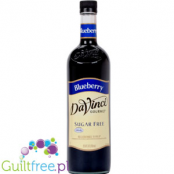 DaVinci Gourme Sugar Free Blueberry Syrup naturally flavored with natural flavor
