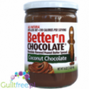 Better'nChocolate Chocolate Flavored Peanut Butter Spread Coconut Chocolate